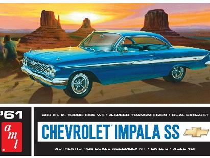 AMT 1/25 1961 Chevy Impala SS Car