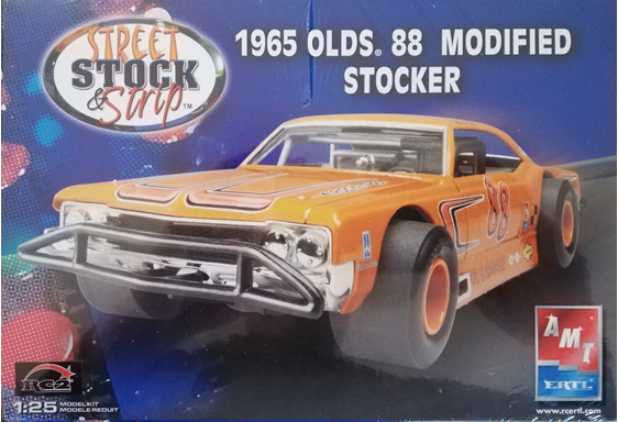 AMT 1/25 1965 Olds 88 Modified Stocker