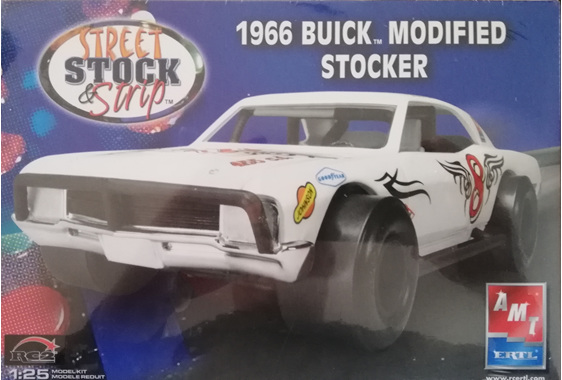 AMT 1/25 1966 Buick Modified Stocker