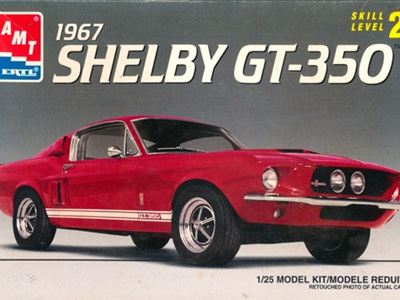 AMT 1/25 1967 Ford Shelby Mustang GT-350