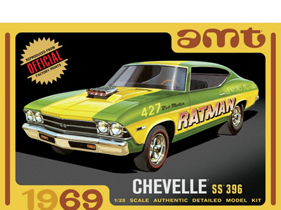 AMT 1/25 1969 Chevelle SS 396 Hardtop