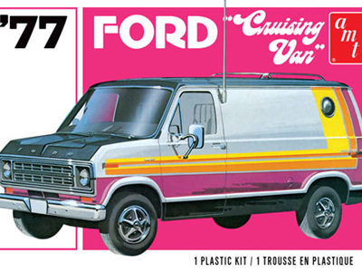 AMT 1/25 1977 Ford Cruising Van