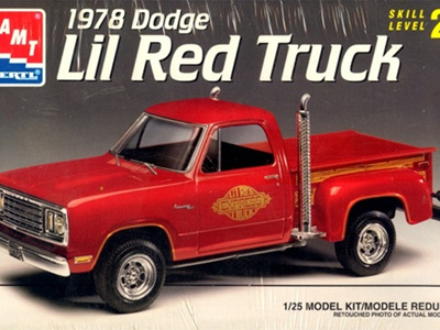 AMT 1/25 1978 Dodge Lil Red Truck