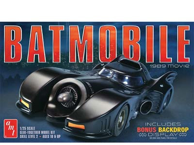 AMT 1/25 1989 Batmobile