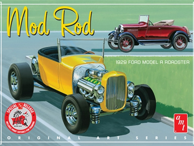 AMT 1/25 '29 Ford Model A Roadster Mod Rod