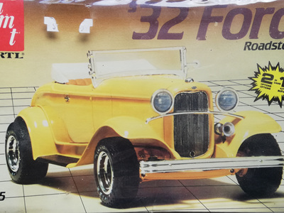 AMT 1/25 32 Ford Roadster