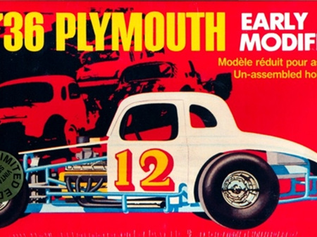 AMT 1/25 '36 Plymouth Early Modified