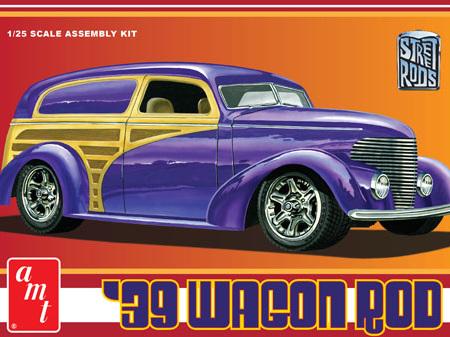 AMT 1/25 39 Wagon Rod