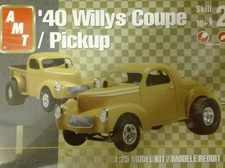 AMT 1/25 40 Willys Coupe/Pickup
