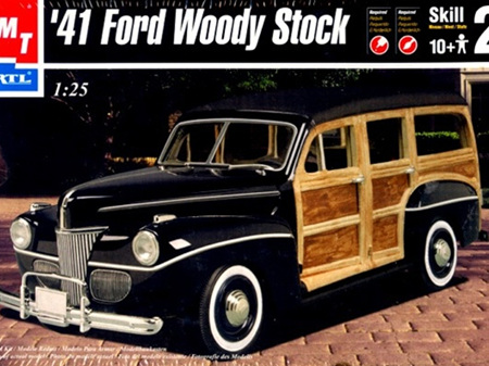 AMT 1/25 41 Woody Stock