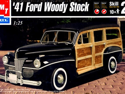 AMT 1/25 41 Woody Stock