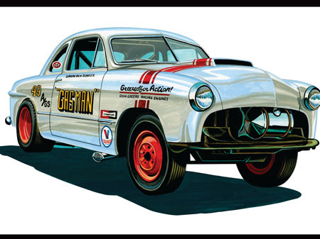 AMT 1/25 49 Ford Coupe 'Gas Man'
