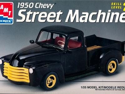 AMT 1/25 50 Chevy Pickup Street Machine