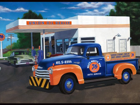 AMT 1/25 50 Chevy Pickup (Union 76)