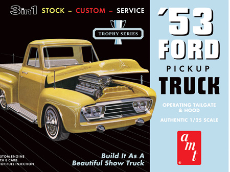 AMT 1/25 53 Ford Pickup 3n1