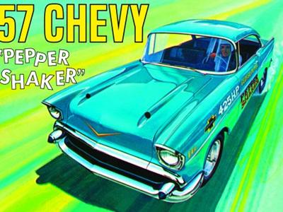 AMT 1/25 57 Chevy Pepper Shaker