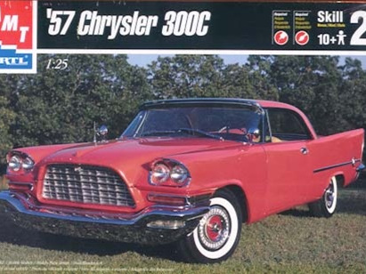 AMT 1/25 57 Chrysler 300C