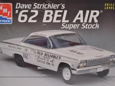 AMT 1/25 62 Bel Air Super Stock