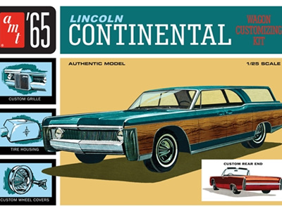 AMT 1/25 65 Lincoln Continental