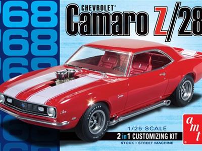 AMT 1/25 68 Camaro Z/28 2n1