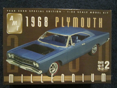AMT 1/25 68 Plymouth Millennium Edition