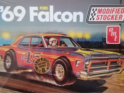AMT 1/25 69 Ford Falcon Modified Stocker