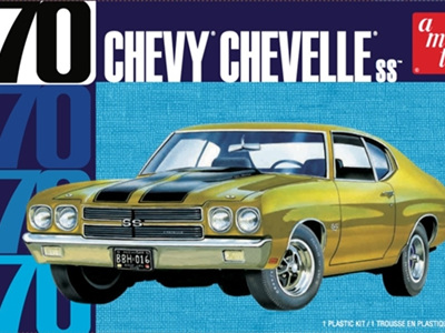 AMT 1/25 '70 Chevy Chevelle SS