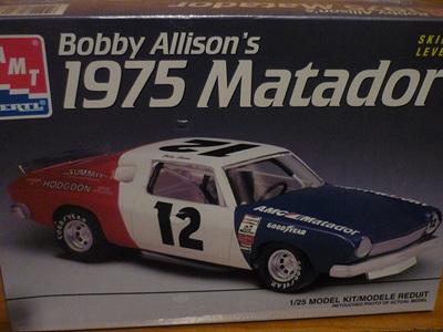 AMT 1/25 Bobby Allison's 1975 Matador
