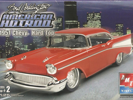 AMT 1/25 Boyd Coddington 1957 Chevy Hard Top
