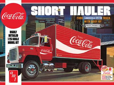 AMT 1/25 Coca-Cola 1970 Ford Louisville Short Hauler