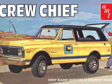 AMT 1/25 'Crew Chief' Chevy Blazer