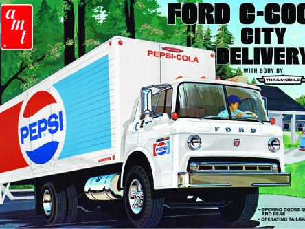 AMT 1/25 Ford C600 Pepsi City Delivery Truck