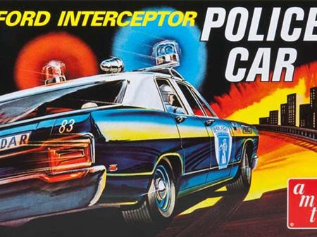 AMT 1/25 Ford Galaxie Interceptor 'Police Car'