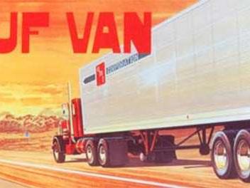 AMT 1/25 Fruehauf Van