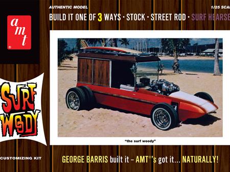 AMT 1/25 George Barris Surf Woody