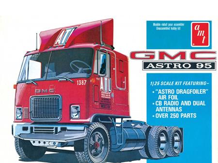 AMT 1/25 GMC Astro 95 Semi Tractor