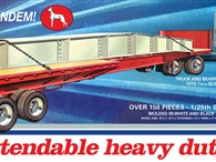 AMT 1/25 Great Dane Extendable Flat bed Trailer