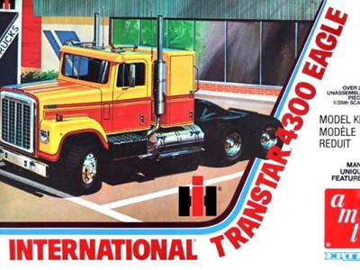 AMT 1/25 International 4300 Eagle
