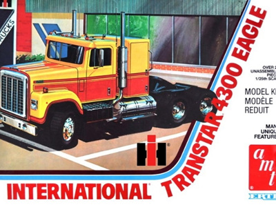 AMT 1/25 International 4300 Eagle