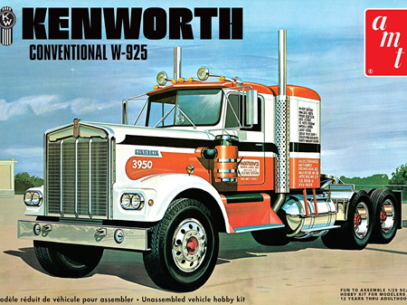 AMT 1/25 Kenworth Conventional W925