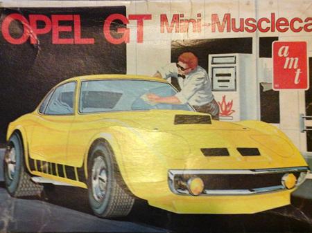 AMT 1/25 Opel GT Musclecar (Original Issue)