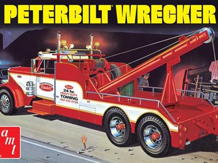 AMT 1/25 Peterbilt 359 Wrecker