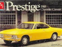 AMT 1/25 Prestige 1969 Chevrolet Corvair