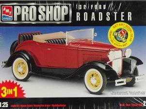 AMT 1/25 Pro Shop 32 Ford Roadster