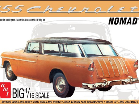 AMT 1/16 1955 Chevy Nomad Wagon (AMT1005)