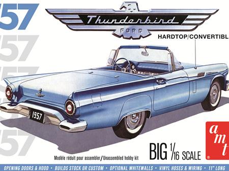 AMT 1/16 1957 Ford Thunderbird Hardtop/Convertible (AMT1206)