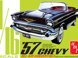 AMT 1/16 57 Chevy Bel Air Convertible (AMT1159)