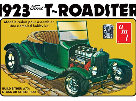AMT 1/25 1923 Ford Model T Roadster Street Rod