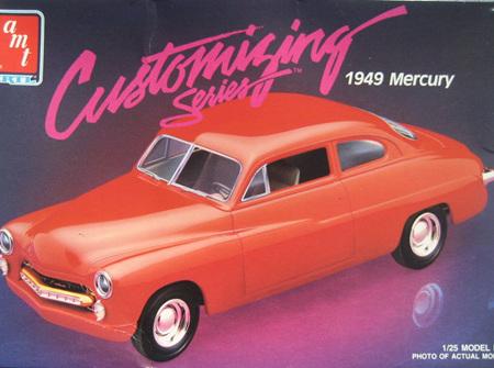 AMT 1/25 1949 Mercury Customizing Series (AMT6830)