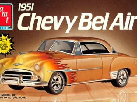 AMT 1/25 1951 Chevy Bel Air (AMT6607)